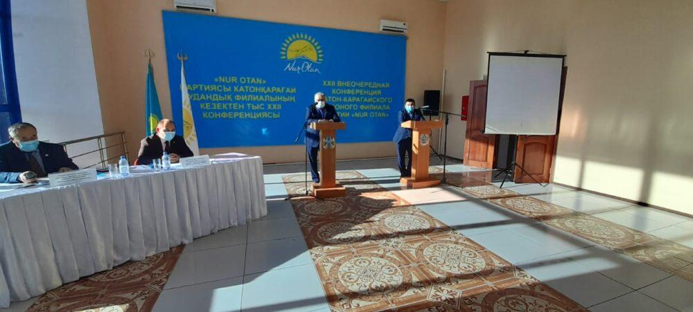 В ВКО определили первых кандидатов в партийный список Nur Otan 1