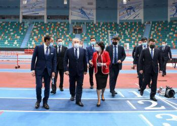 Елбасы посетил новый легкоатлетический спортивный комплекс 1
