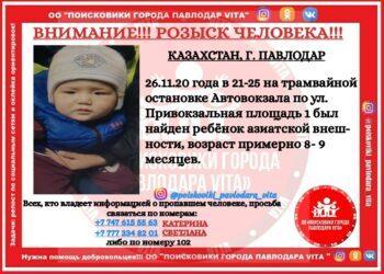 Маленького ребенка нашли на остановке в Павлодаре 2