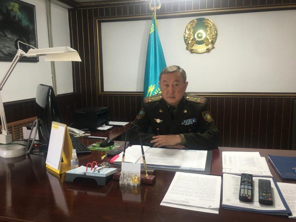 Скончался начальник ДЧС Кызылординской области 1