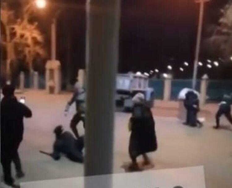 Двое мужчин избили нацгвардейца в Павлодаре 1