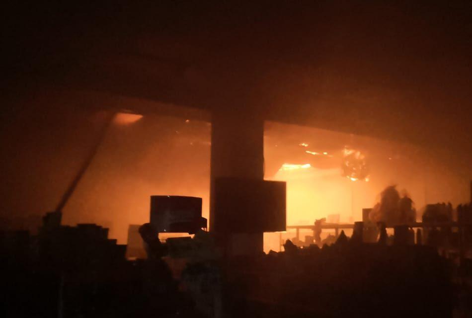 Баня, кафе и магазин горели в Таразе 1