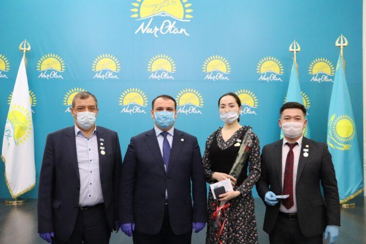 В Павлодарской области в ряды Nur Otan приняли новых активистов 1