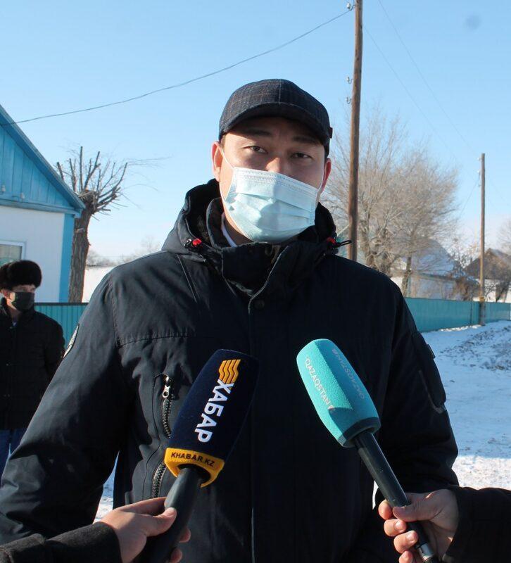В селе Болгарка Актюбинской области провели газ 1