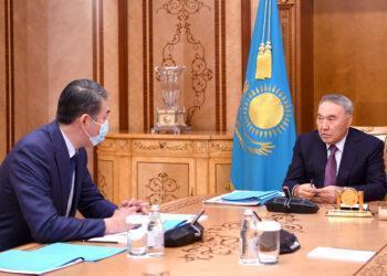 Елбасы встретился с секретарем Совета Безопасности Асетом Исекешевым 1