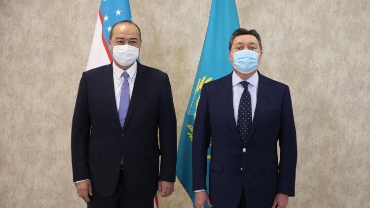 Мамин и Арипов провели переговоры в Туркестане 1