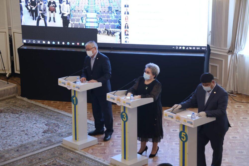 Выборы депутатов: карагандинские члены Nur Otan определились со списком кандидатов 2