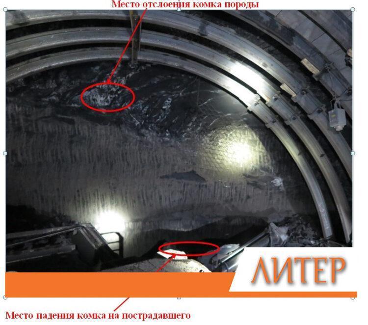Кусок горной массы рухнул на проходчика на шахте в Караганде 1