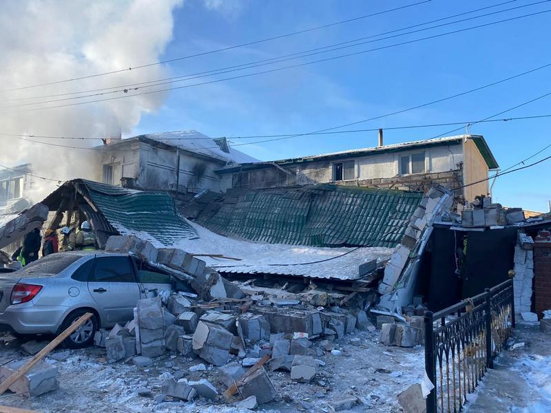 Взрыв газа произошел в одном из кафе Нур-Султана. Погиб человек 1