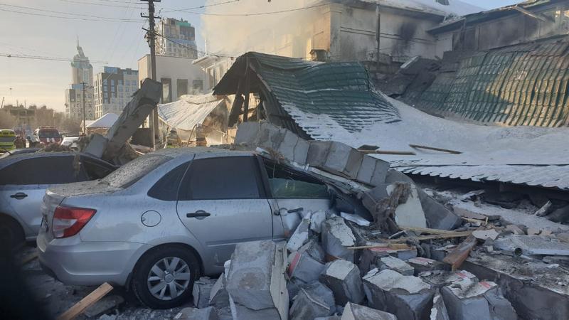 Взрыв газа произошел в одном из кафе Нур-Султана. Погиб человек 2