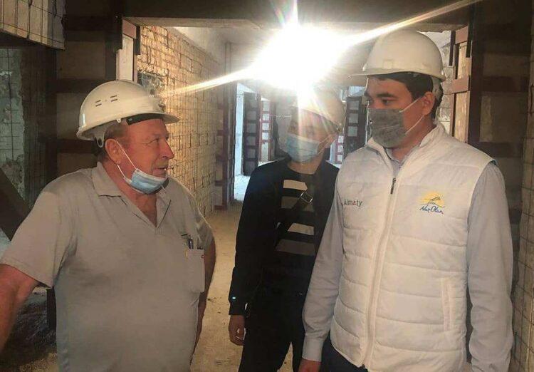 Нуротановцы Алматы обсудили развитие строительства жилых домов 1