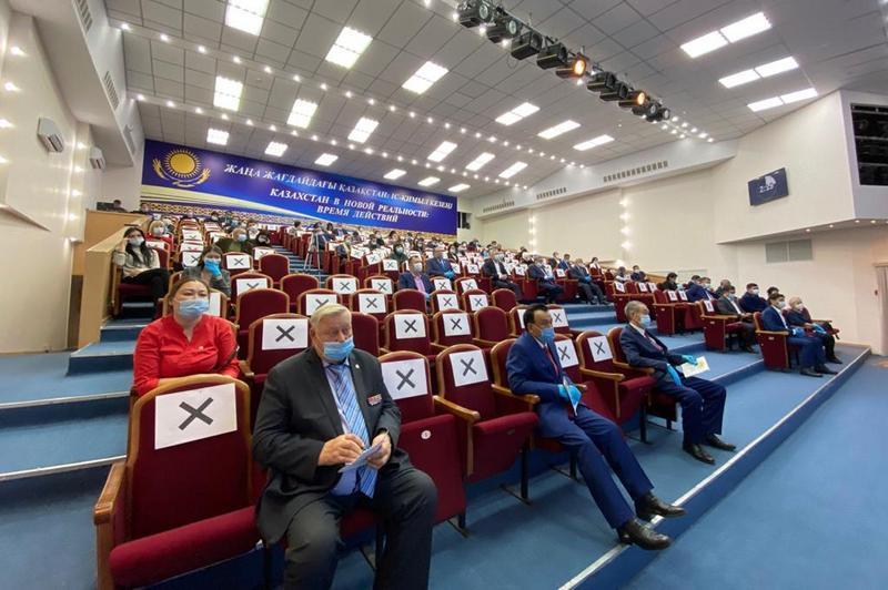В Кокшетау партийцы определились с кандидатами от Nur Otanна выборы в маслихаты 1