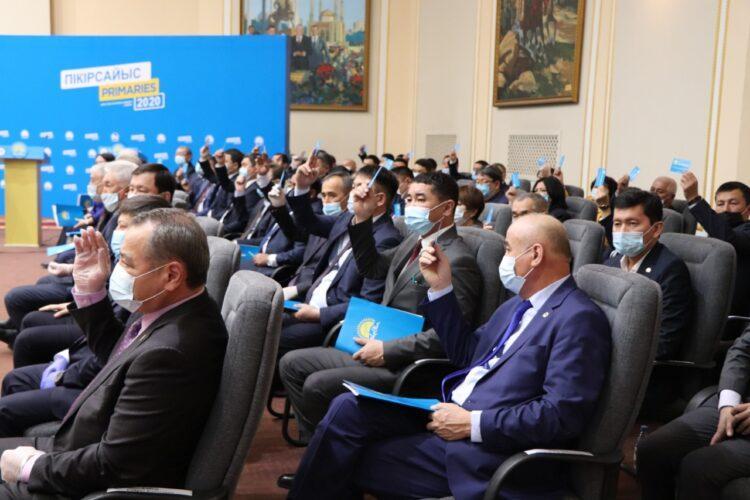 Праймериз Nur Otan: в Актюбинской области выбрали четырех кандидатов в Мажилис 1