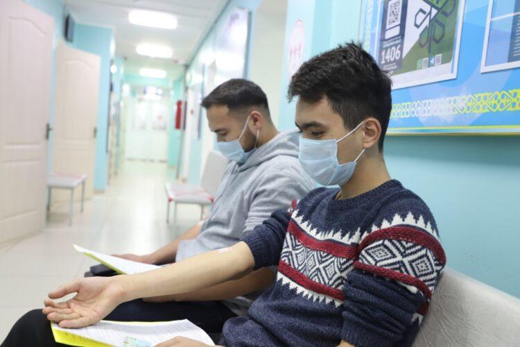 Алматинские активисты сдали около 10 литров крови 1