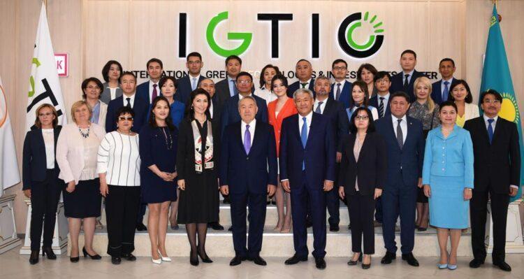 Международный Центр зеленых технологий и инвестиционных проектов поздравил казахстанцев с днем Первого Президента 1