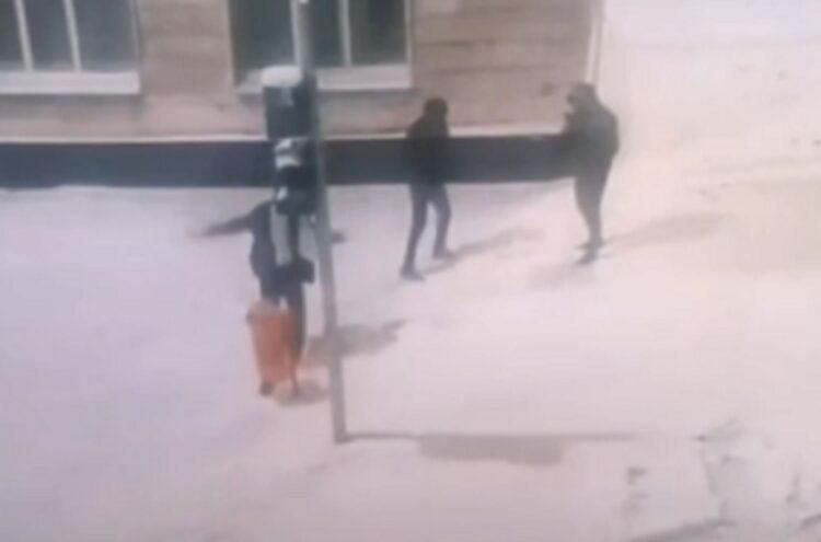 Драка астанчан с «урной» попала на видео 1