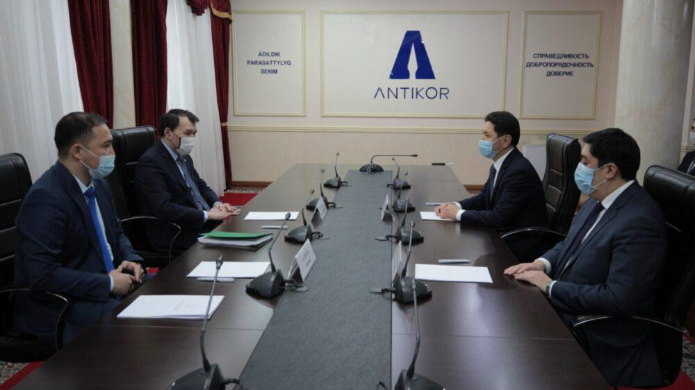 Антикоррупционная служба теперь будет сотрудничать с ОО «Әділдік жолы» 2