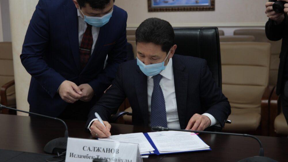Антикоррупционная служба теперь будет сотрудничать с ОО «Әділдік жолы» 3