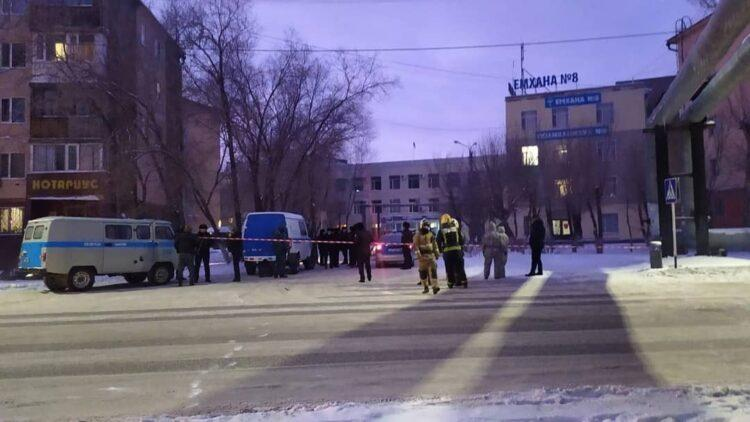 Арестован «заминировавший» здание полиции в Караганде 1