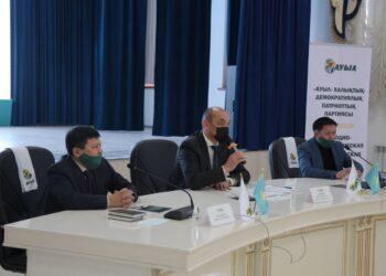 Кандидаты от партии «Ауыл» объяснили свою программу жамбылцам 6