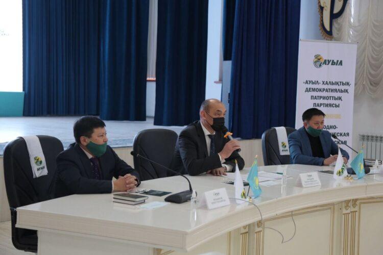 Кандидаты от партии «Ауыл» объяснили свою программу жамбылцам 1