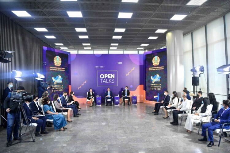 Маулен Ашимбаев обсудил с молодежью уроки пандемии 1