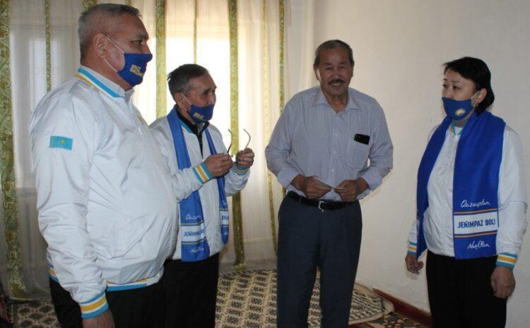 В Кызылординской области кандидаты в депутаты получили благословение аксакалов 1