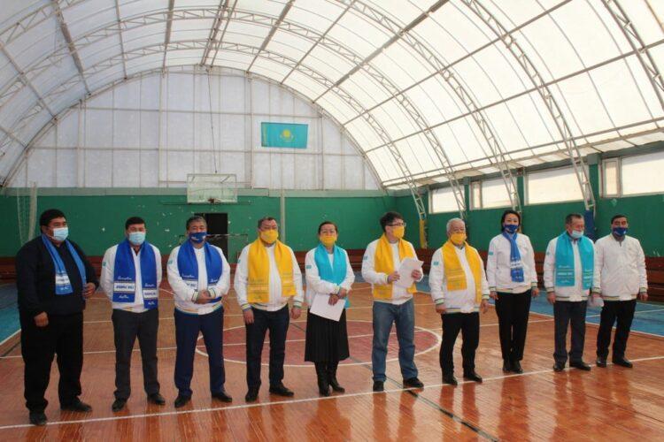 Кандидаты от Nur Otan в Кызылординской области встретились со спортивной общественностью 1