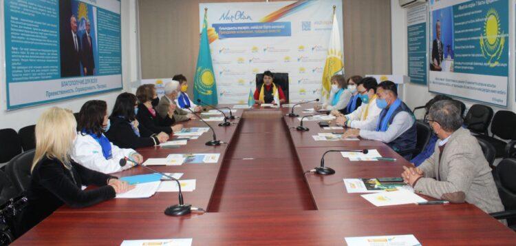 Выборы: в Алматинском городском филиале Nur Otan назвали свой главный ориентир на ближайшие пять лет 1