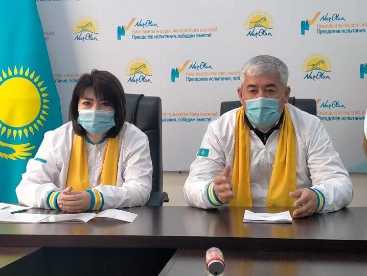 Партийцы Nur Otan обещают повысить продолжительность жизни жителей Туркестанской области 1