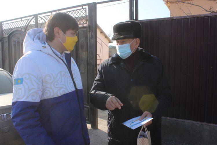 Фото: пресс-служба Туркестанского областного филиала Nur Otan