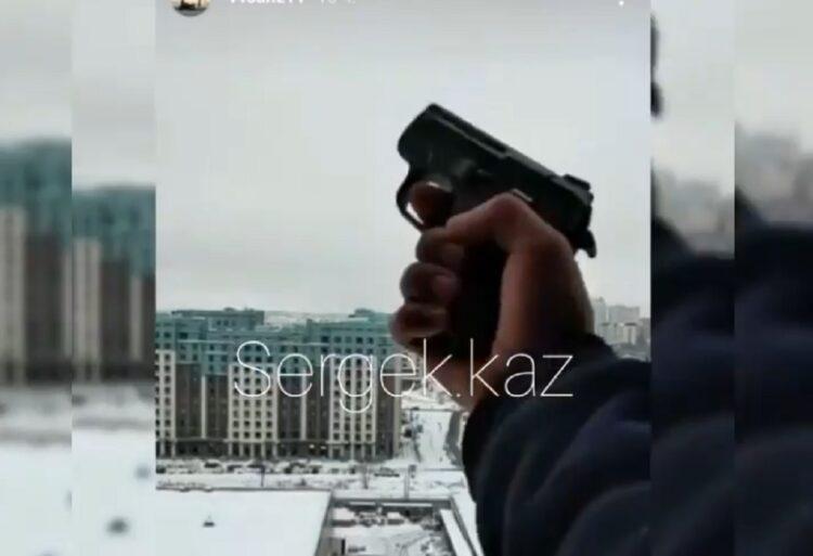 """""""Алматы наш"""": полицейские задержали мужчину, стрелявшего в воздух 1"""