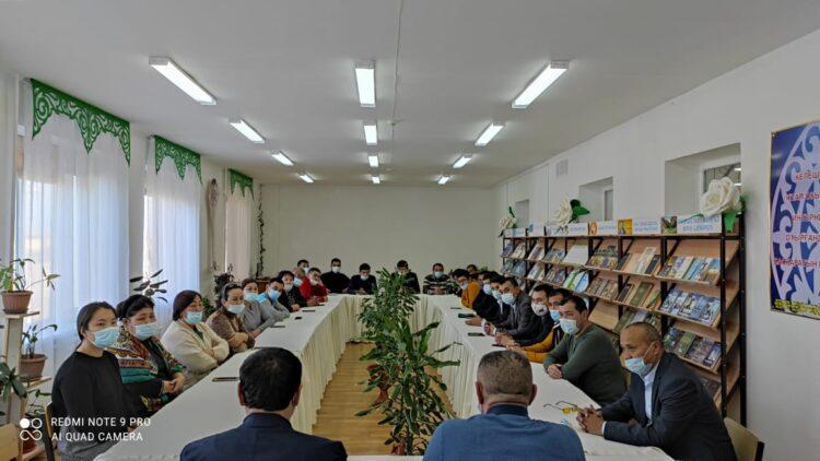 Кандидаты в депутаты продолжают встречаться с населением Мангистауской области 1