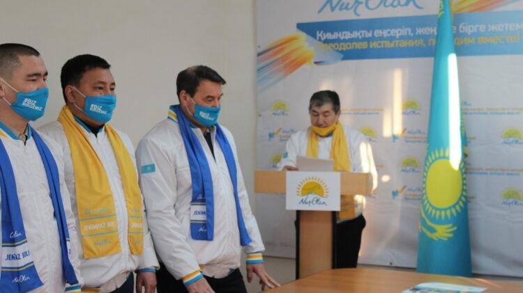 Открылся штаб по поддержке кандидатов от партии Nur Otan на выборы депутатов мажилиса 1