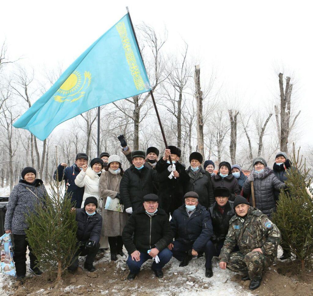 В Алматы появился парк памяти участников декабрьских событий 1986 года