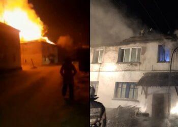 Мы в отчаянии - жители сгоревшей двухэтажки в селе близ Караганды 2