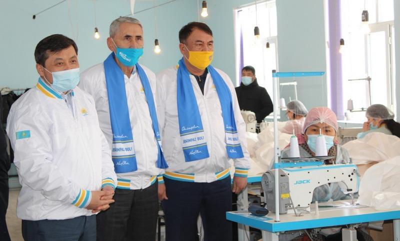 Nur Otan в районе Туркестанской области окажет содействие 130 проектам стоимостью 11,6 млрд тенге 2