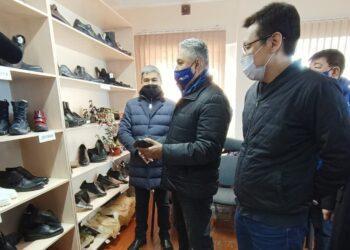 Азат Перуашев встретился с предпринимателями Тараза 3