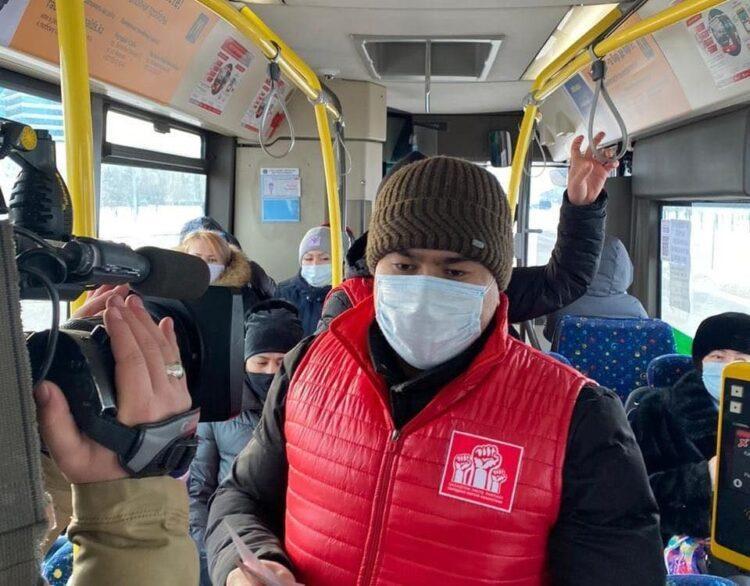 Члены НПК проверили безопасность столичных автобусов 1