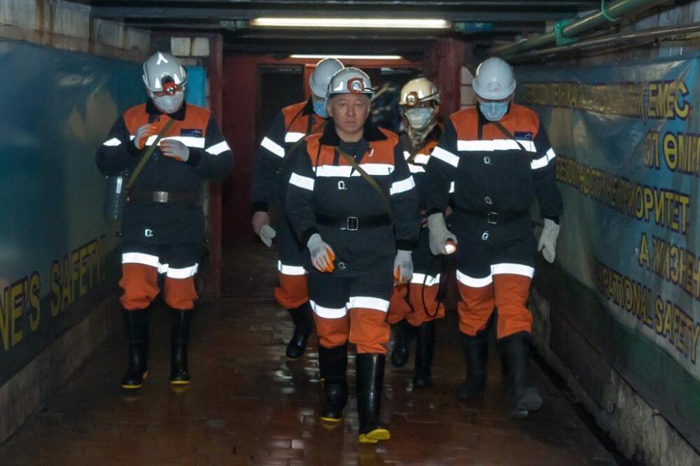 Нурлан Нигматулин встретился с шахтерами Карагандинской области 2