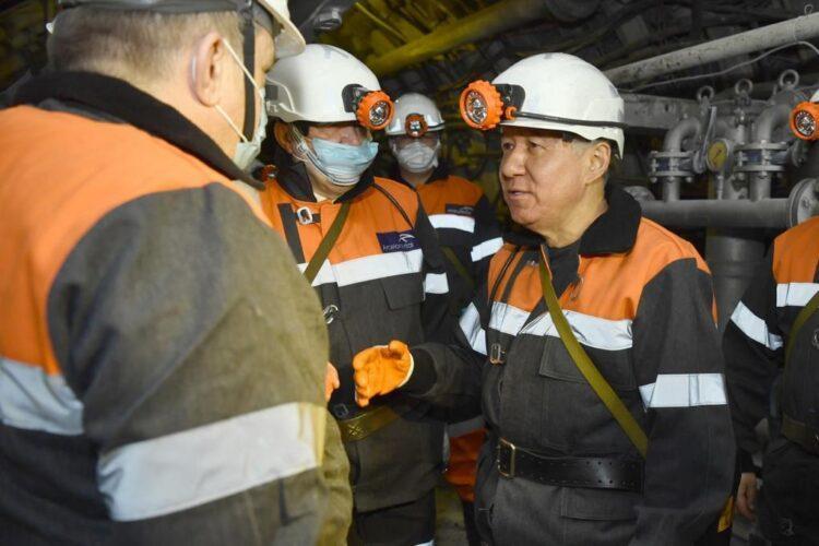 Нурлан Нигматулин встретился с шахтерами Карагандинской области 1