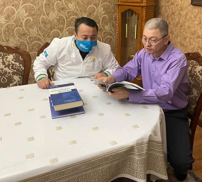 Мы сохраним историко-культурное наследие Казахстана - Nur Otan 1