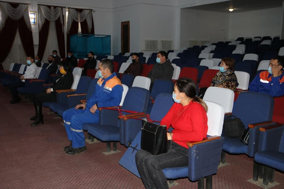 Жители села в Западно-Казахстанской области поддержали Nur Otan 2