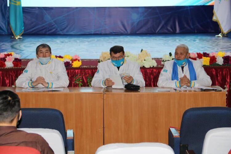 Жители села в Западно-Казахстанской области поддержали Nur Otan 1