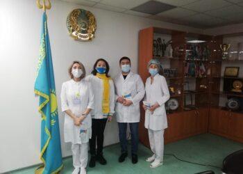 Здравоохранение - одно из основных направлений предвыборной программы Nur Otan 3