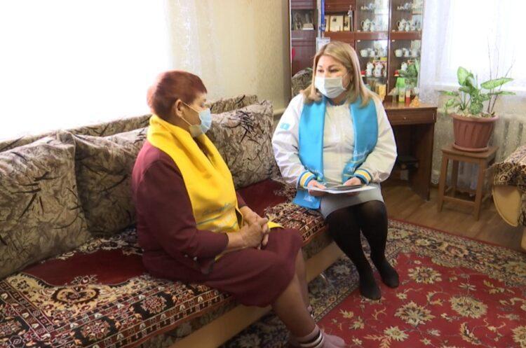 Жители СКО благодарят Nur Otan за поддержку села 1