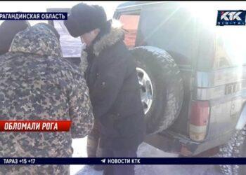 Полицейские полночи гнались за браконьерами в Карагандинской области 1