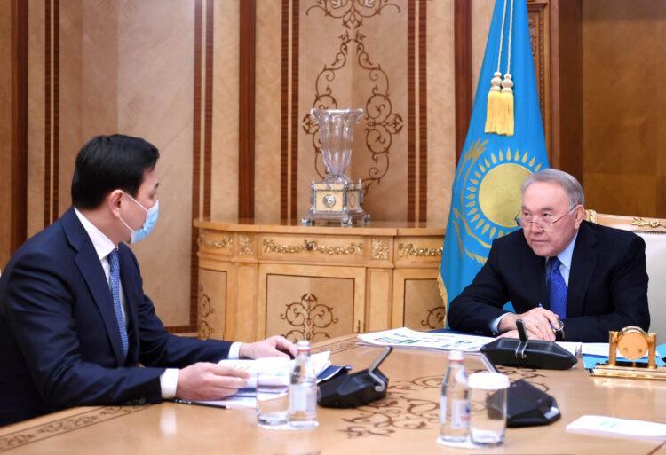 Кульгинов рассказал Елбасы о мерах по поддержке представителей малого и среднего бизнеса Нур-Султана 1