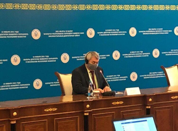 Чешский депутат проверил работу наблюдателей в Нур-Султане 1
