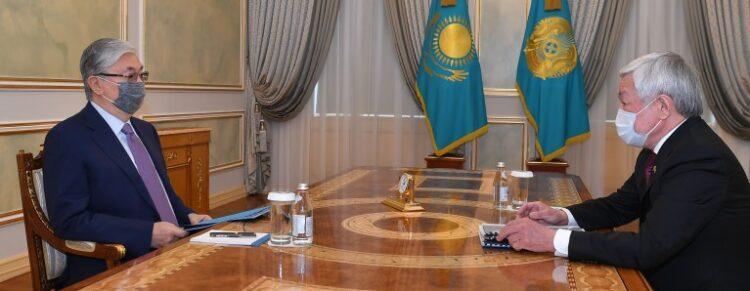 Кордайский конфликт, коронавирус, проекты на 35 млрд тг: Токаев встретился с акимом Жамбылской области 1